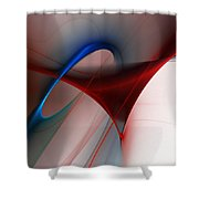 Abstract 052510 Shower Curtain