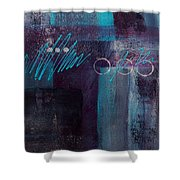 Abstract 053 Shower Curtain