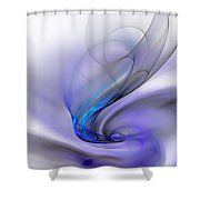 Abstract 053110 Shower Curtain