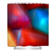 Abstract 060110 Shower Curtain