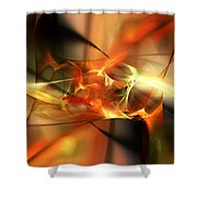 Abstract 060110a Shower Curtain