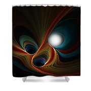 Abstract 060310c Shower Curtain