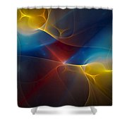 Abstract 060410 Shower Curtain