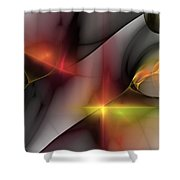Abstract 060810 Shower Curtain