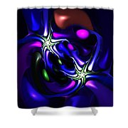 Abstract 060810f Shower Curtain