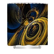 Abstract 060910 Shower Curtain