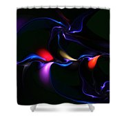 abstract 060910A Shower Curtain