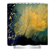 Abstract 061 Shower Curtain by Pol Ledent
