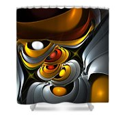 Abstract 061010 Shower Curtain