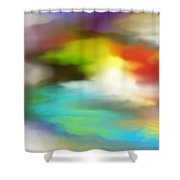 Abstract 061011a Shower Curtain