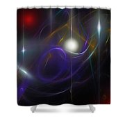 Abstract 062111 Shower Curtain