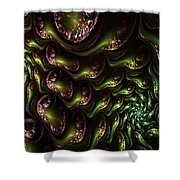 Abstract 062210 Shower Curtain