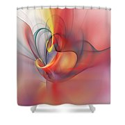 Abstract 062910 Shower Curtain