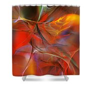 Abstract 062910a Shower Curtain