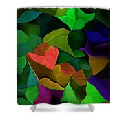 Abstract 063016 Shower Curtain