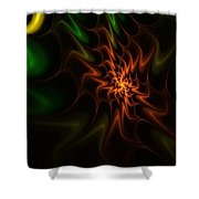 Abstract 070110 Shower Curtain