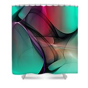 Abstract 070310 Shower Curtain