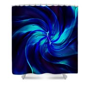 Abstract 070810 Shower Curtain
