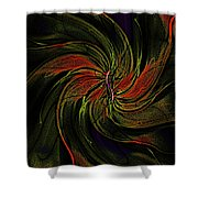 Abstract 070810a Shower Curtain