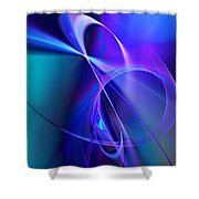 Abstract 070810b Shower Curtain