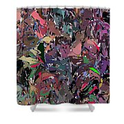 Abstract 070915 Shower Curtain