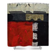 Abstract 071 Shower Curtain