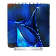 Abstract 071310 Shower Curtain