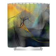 Abstract 071810 Shower Curtain