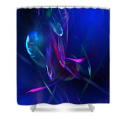 Abstract 072610 Shower Curtain