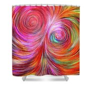 Abstract 072817 Shower Curtain