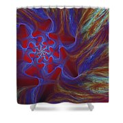 Abstract 073010 Shower Curtain