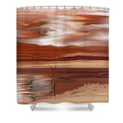 Abstract 080210 Shower Curtain