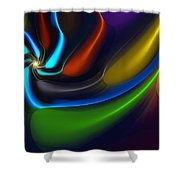 Abstract 080510 Shower Curtain