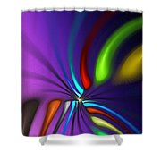 Abstract 080610a Shower Curtain