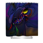 Abstract 080710 Shower Curtain