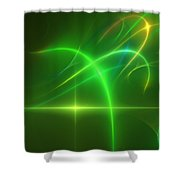 Abstract 081210 Shower Curtain