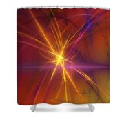Abstract 081210a Shower Curtain