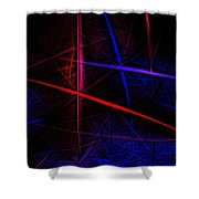 Abstract 081410 Shower Curtain