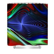 Abstract 081510 Shower Curtain