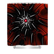 Abstract 082110 Shower Curtain