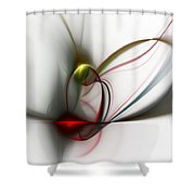 Abstract 082610 Shower Curtain