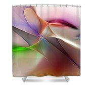 Abstract 082710 Shower Curtain