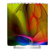 Abstract 082910 Shower Curtain
