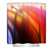 Abstract 0902 C Shower Curtain