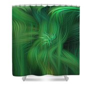 Abstract 0902 G Shower Curtain