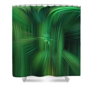 Abstract 0902 H Shower Curtain