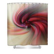 Abstract 0902 K Shower Curtain