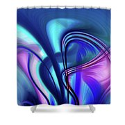 Abstract 0902 N Shower Curtain
