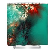 Abstract 090710 Shower Curtain