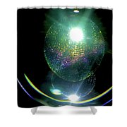 Abstract 096 Shower Curtain